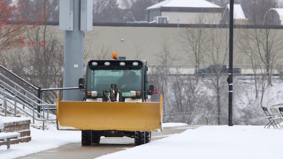 RMUs John Tucci Discusses Snow Clean Up Around Campus