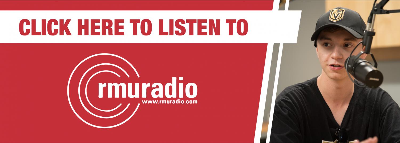 Click here to listen to RMU Radio!