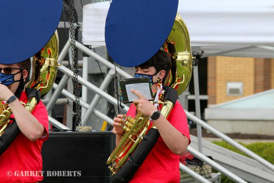 RMU Bands perform in Best of RMU event