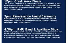 Edges to the Core musical review to preform on Best of RMU Day