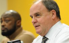 Kevin Colbert stepped from his position on the RMU Board of Trustees due to the recent hockey news. Photo Credit: Pittsburgh Post-Gazette