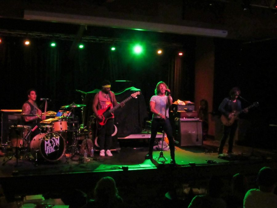 Moon Fever performs in Pittsburgh.    Photo Credit: (RMU Sentry Media/ John Blinn)