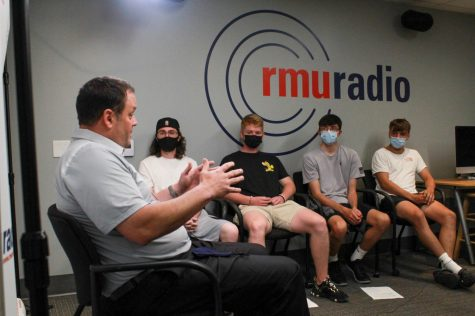 """King: """"I'm not good at much, but I'm pretty good at finance"""" — The Return and Future of RMU Athletics"""