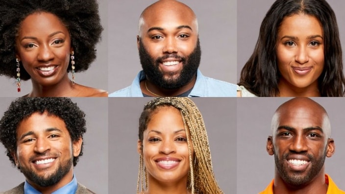 The Cookout alliance and final six houseguests. Photo credit: CBS