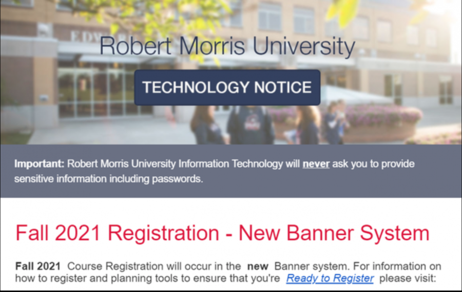 RMU students discuss new Banner scheduling software