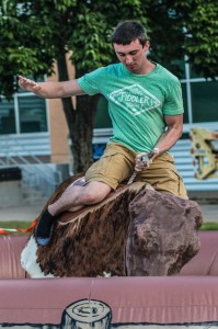 Mechanical Bull Ridiing