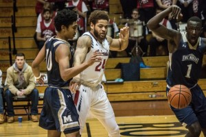 Men's Basketball: RMU vs Mount St. Mary's