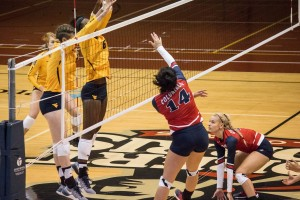 Women's Volleyball: RMU vs WVU
