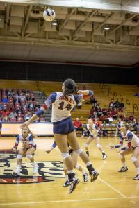 Women's Volleyball: RMU vs Middle Tennessee IMG 9834