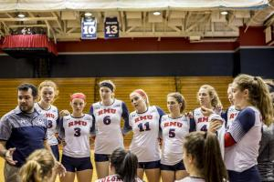 Women's Volleyball: RMU vs Middle Tennessee