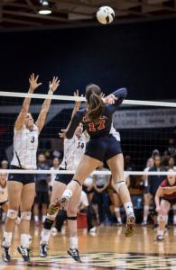 Women's Volleyball: RMU vs Penn