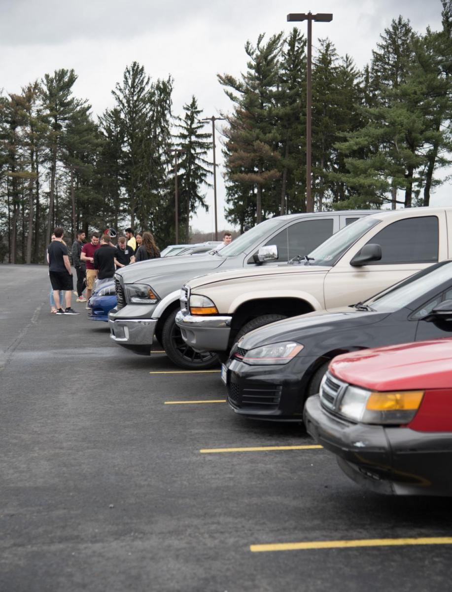 Car Club meets at Wheatley on April 12, 2019.