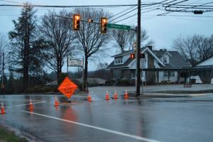 Brodhead Road closed