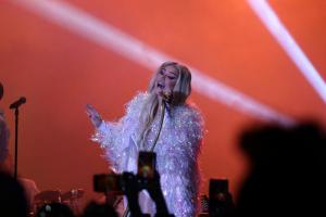 Singer Kesha performs in Pittsburgh