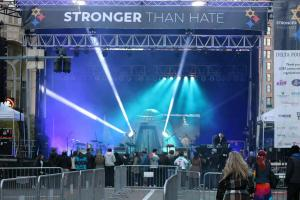 Stronger Than Hate stage set for Kesha to Perform